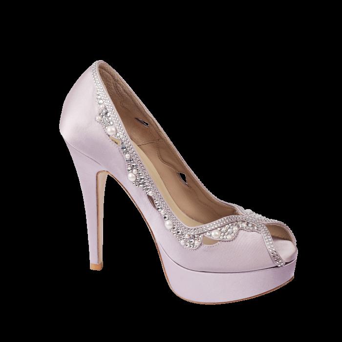 0ec763a67e3 Lucido Silky Platform Heels